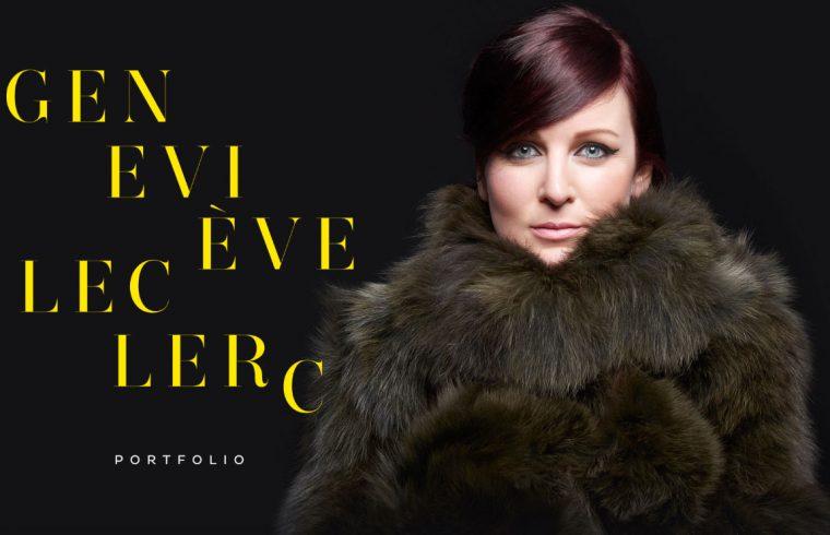 Geneviève Leclerc chansons portfolio