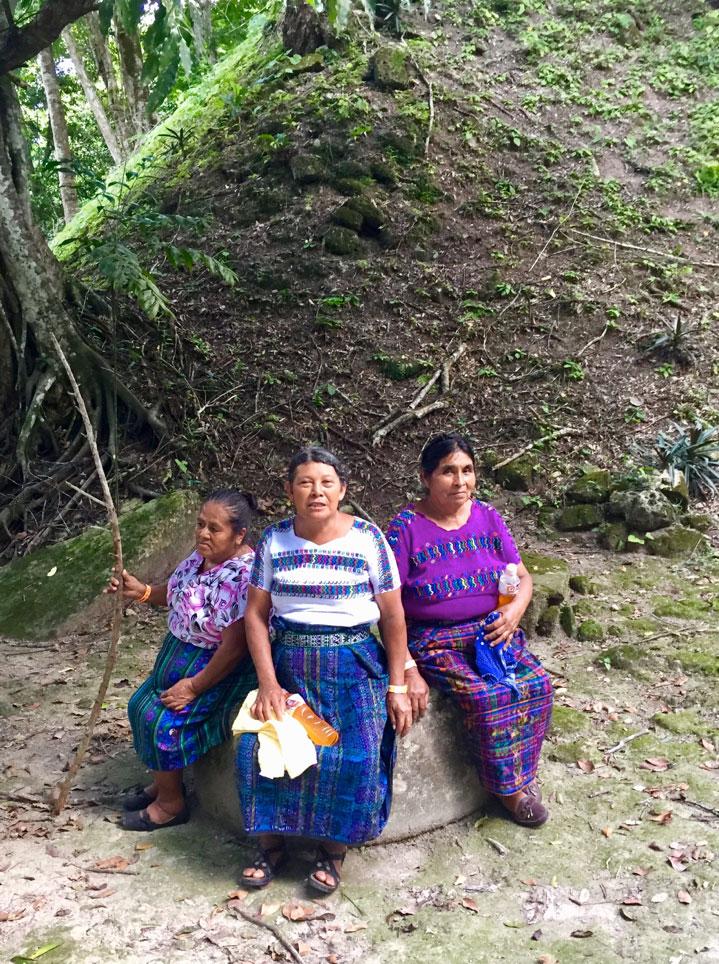 Femmes du Guatémala