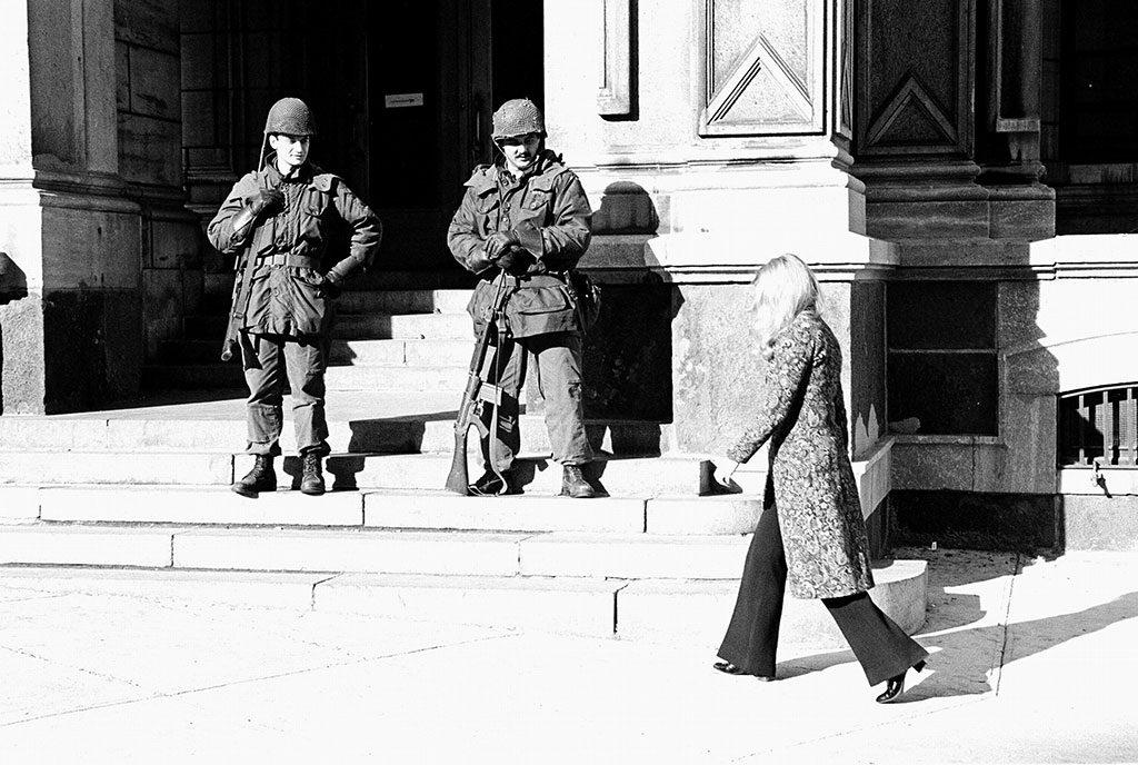 Armée canadienne à Montréal en octobre 1970