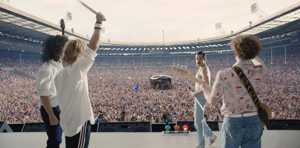 Queen a Wembley pour Live Aid